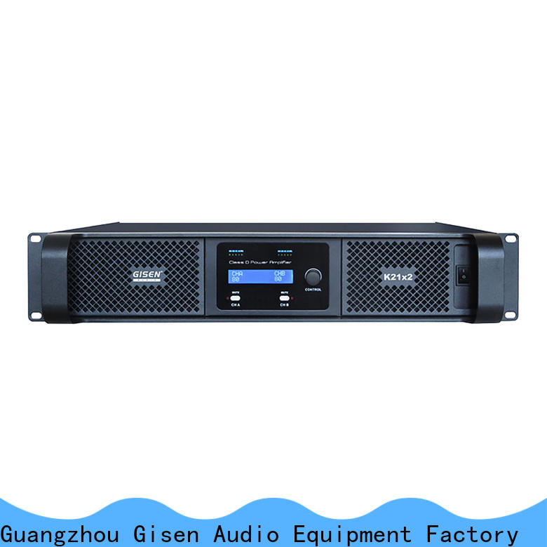 guangzhou home stereo power amplifier 2100wx2 manufacturer for performance