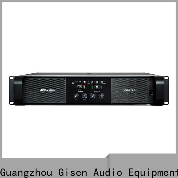 Gisen power power amplifier class td get quotes for night club