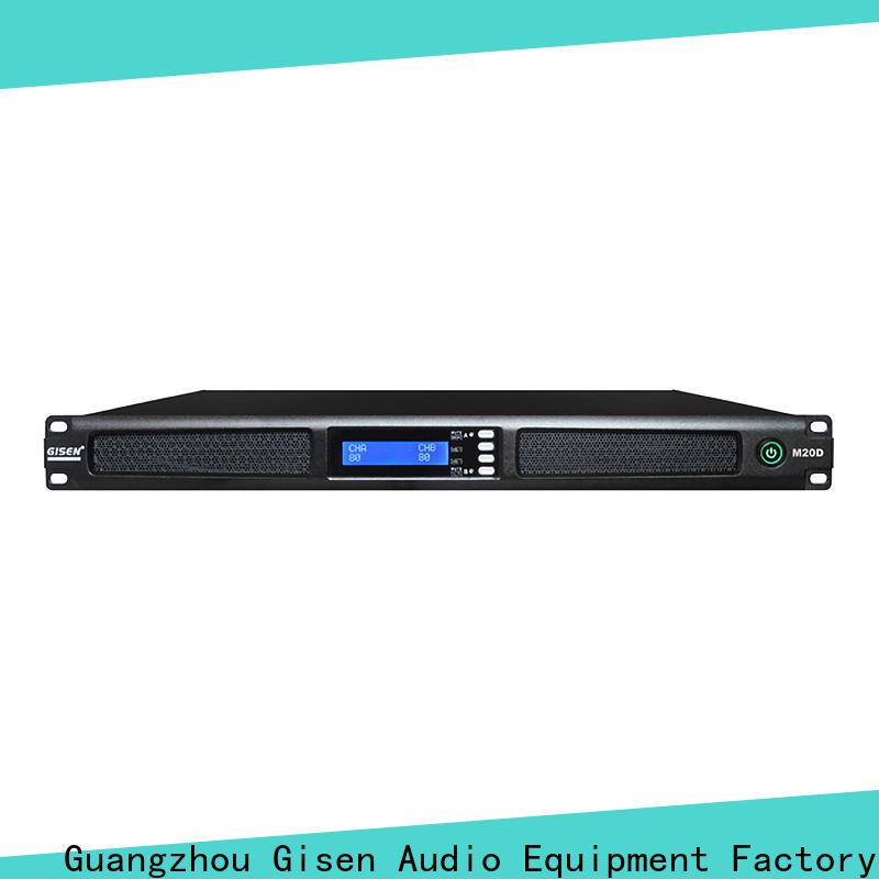 Gisen amplifier 2 channel power amplifier wholesale for performance