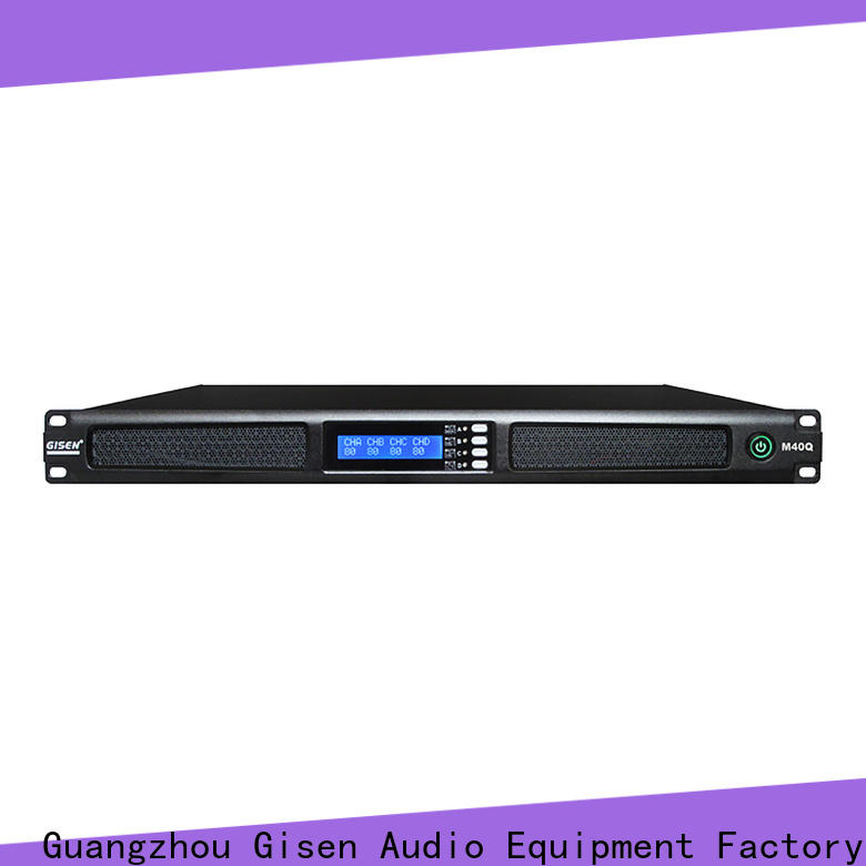 new model 4 channel amplifier 4 channel series for entertainment club