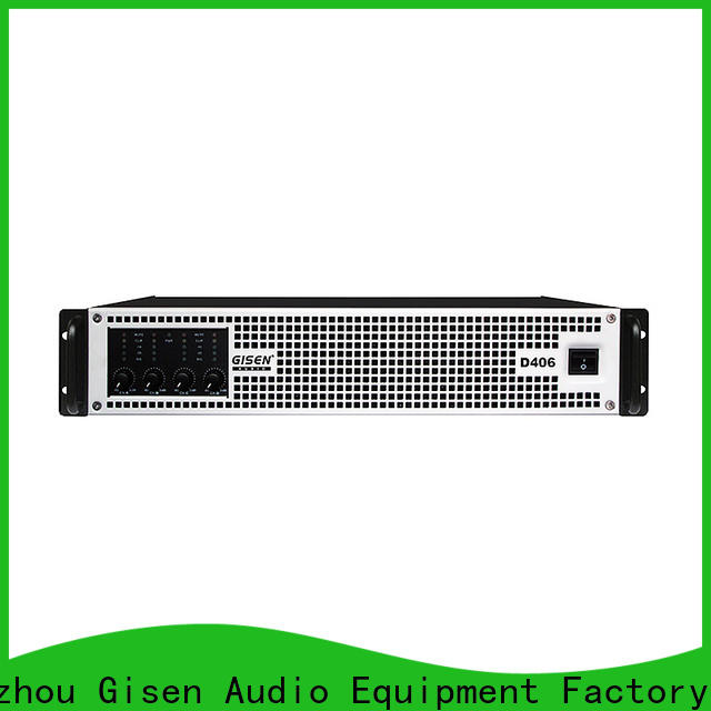 Gisen professional top 10 power amplifiers supplier for ktv