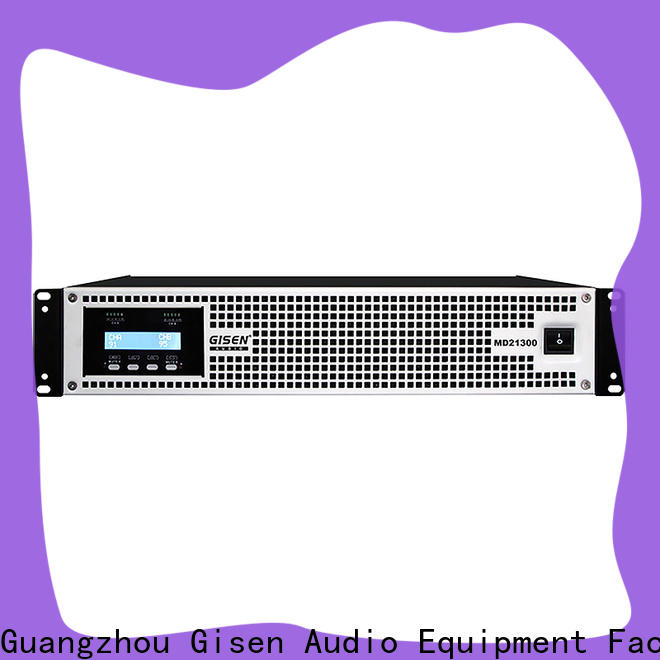 Gisen competitive price best surround sound amp crazy price for vocal concert