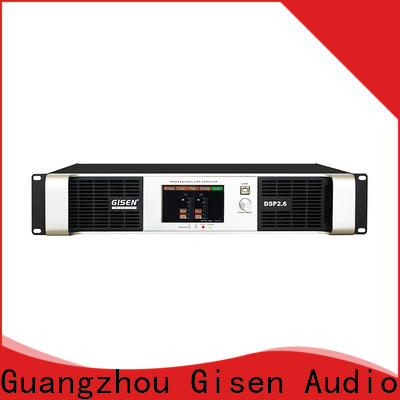 Gisen 2100wx2 dsp amplifier manufacturer for various occations