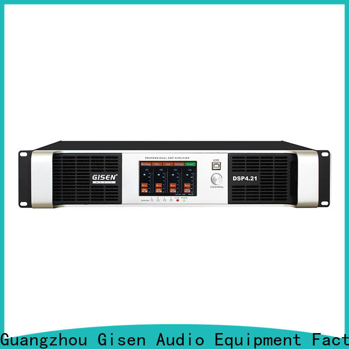 Gisen professional desktop audio amplifier wholesale for various occations