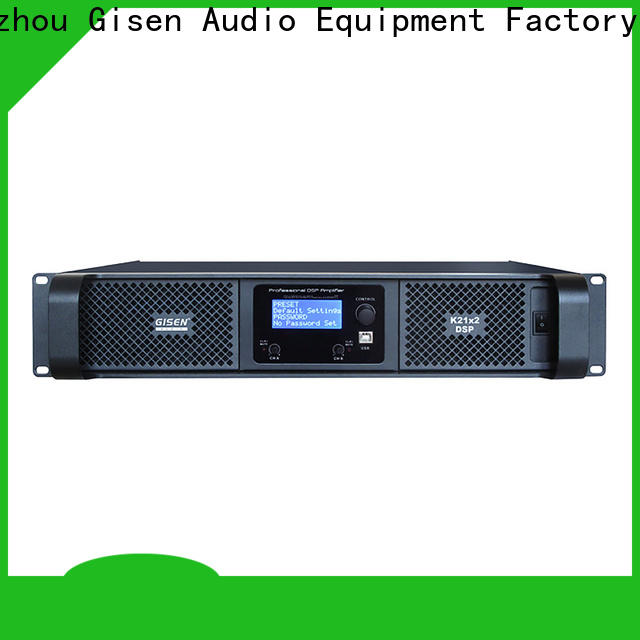 high quality multi channel amplifier 2 channel factory for performance