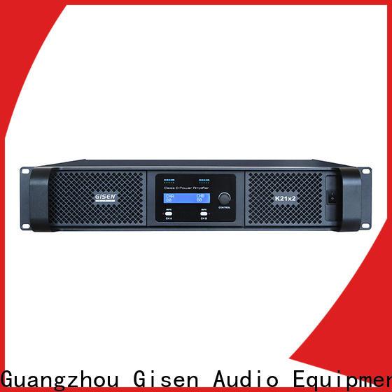 Gisen advanced best class d amplifier manufacturer for performance