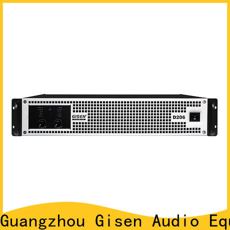 Gisen class class d stereo amplifier wholesale for ktv