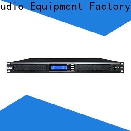 Gisen new model digital power amplifier manufacturer for venue