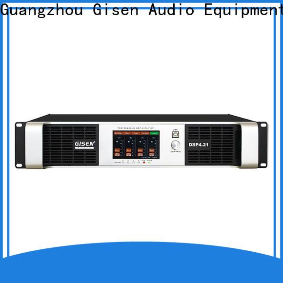 Gisen multiple functions desktop audio amplifier manufacturer for performance