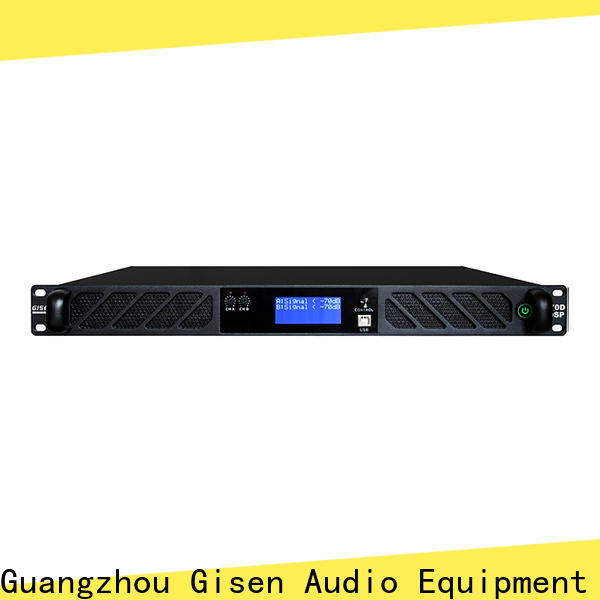 Gisen touch screen 1u amplifier factory for performance