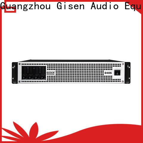 Gisen digital hifi class d amplifier manufacturer for entertaining club
