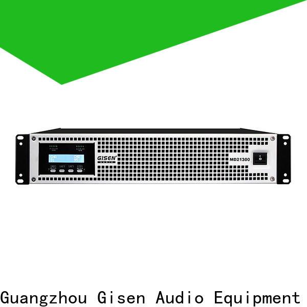 Gisen hot selling toroidal transformer amplifier sale price for ktv