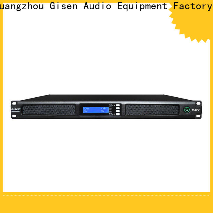 new model professional power amplifier digital wholesale for entertainment club