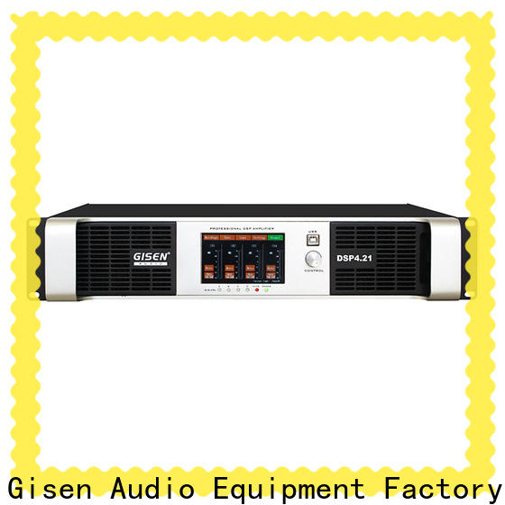Gisen touch screen amplifier power factory for various occations