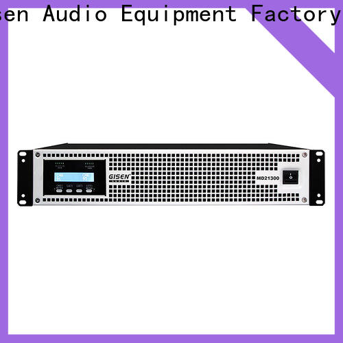 Gisen strict inspection best audio amplifier crazy price for meeting