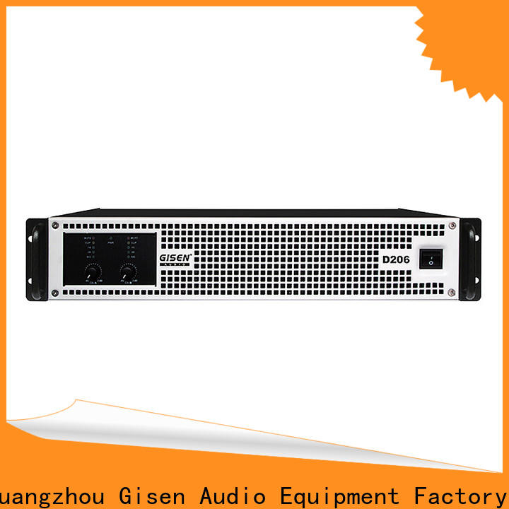 Gisen 2100wx4 class d digital amplifier wholesale for entertaining club