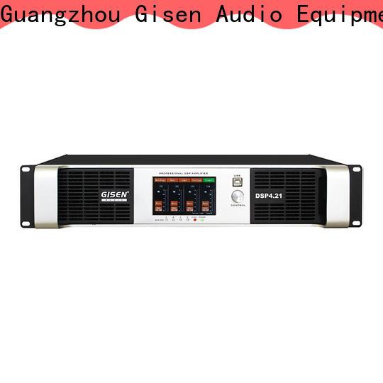 Gisen 4 channel desktop audio amplifier factory
