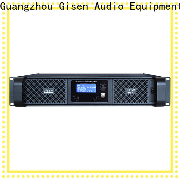 Gisen multiple functions best power amplifier in the world manufacturer for performance