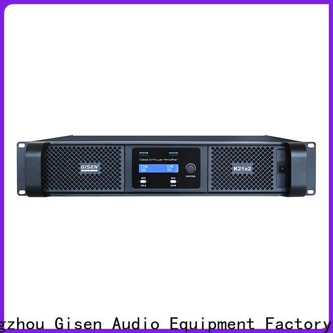 Gisen full range sound digital amplifier fast shipping for ktv