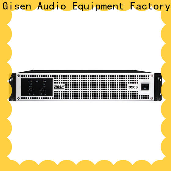 Gisen 2100wx4 dj amplifier manufacturer for ktv