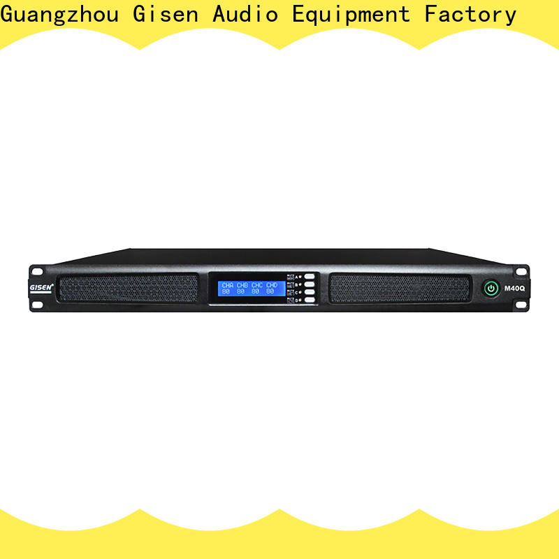 new model 2 channel power amplifier amplifier wholesale for entertainment club