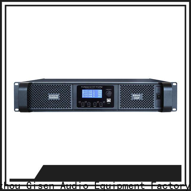Gisen multiple functions amplifier power manufacturer for venue