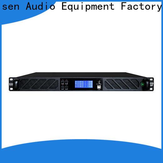 Gisen multiple functions desktop audio amplifier factory for venue