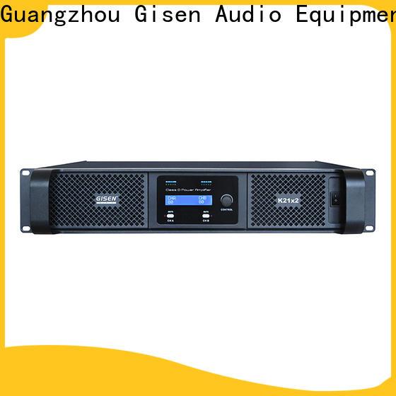 Gisen digital home stereo power amplifier wholesale for stadium