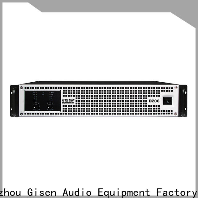 Gisen high efficiency home stereo power amplifier wholesale for meeting