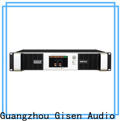 Gisen multiple functions best power amplifier in the world factory for stage