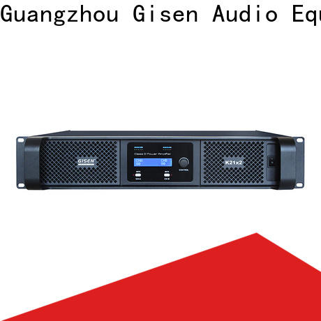 Gisen 8ohm home stereo power amplifier wholesale for meeting