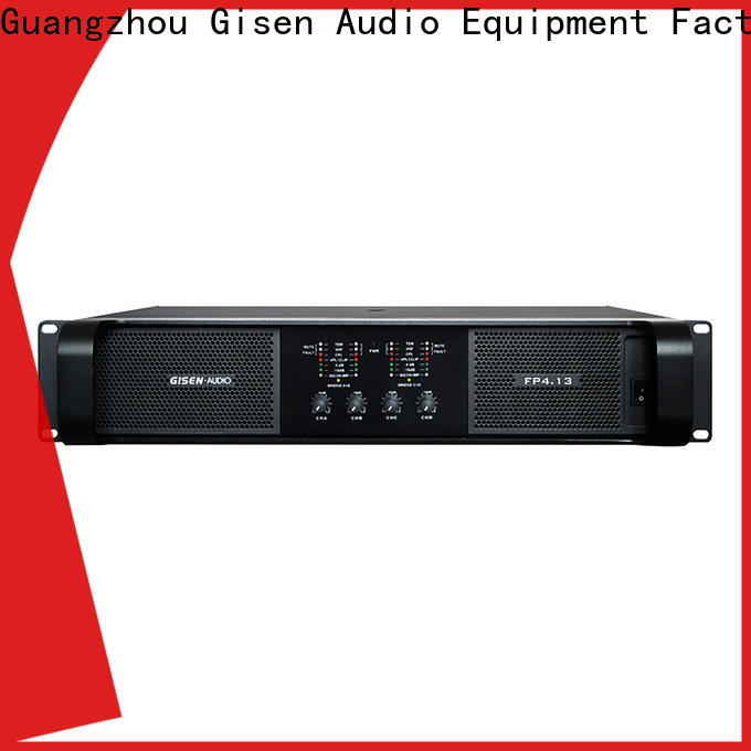 Gisen unbeatable price stereo amplifier one-stop service supplier for vocal concert
