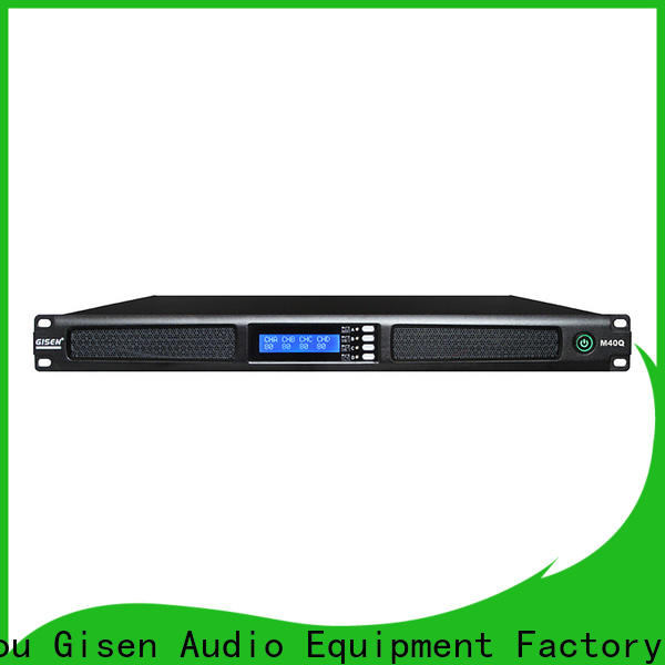Gisen new model professional amplifier series for performance