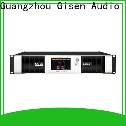 Gisen 1u 1u amplifier supplier for venue