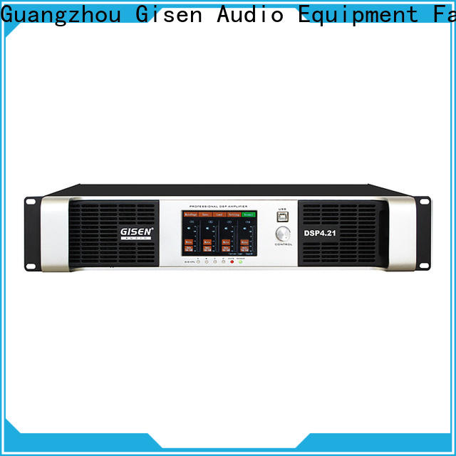 Gisen professional audio amplifier pro factory for performance