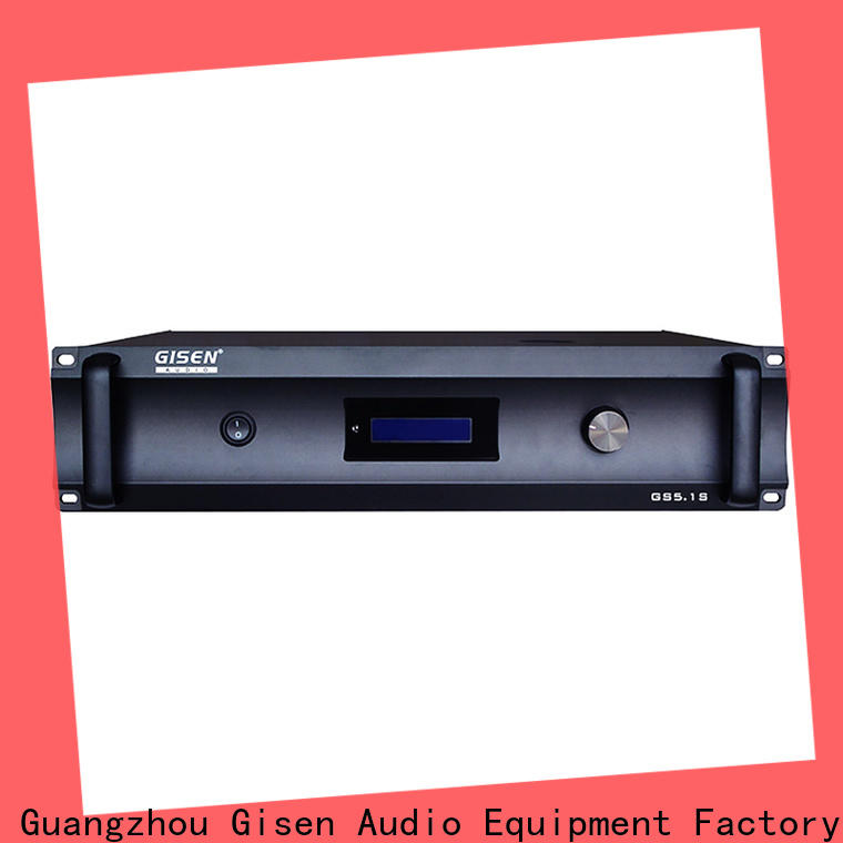 Gisen theatre stereo audio amplifier manufacturer for ktv
