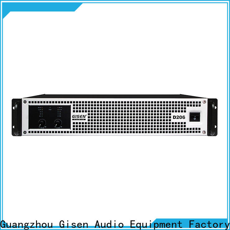 Gisen class class d digital amplifier fast delivery for entertaining club