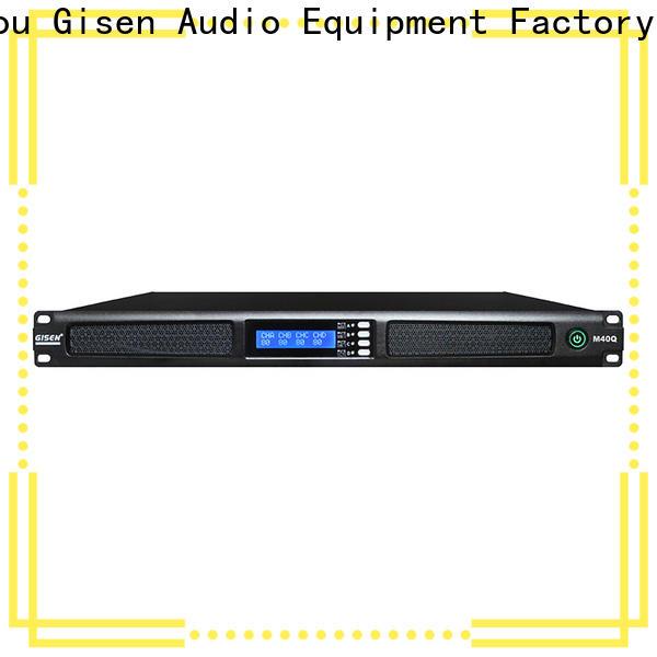 Gisen new model digital amplifier wholesale for venue