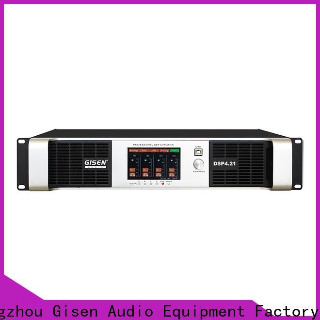 Gisen 2100wx2 studio amplifier wholesale for performance