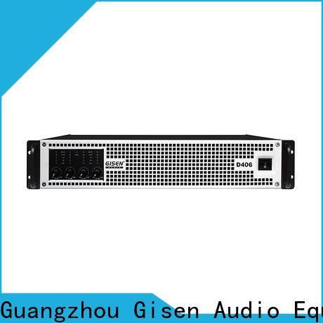Gisen guangzhou class d audio amplifier fast shipping for entertaining club