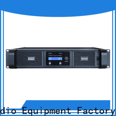 Gisen high efficiency dj amplifier manufacturer for ktv