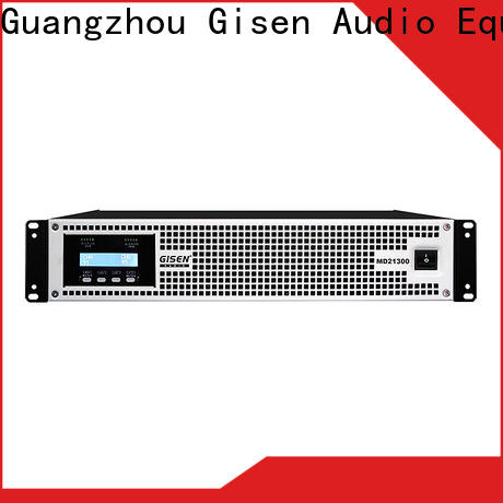 Gisen strict inspection high end stereo amplifiers overseas market for vocal concert