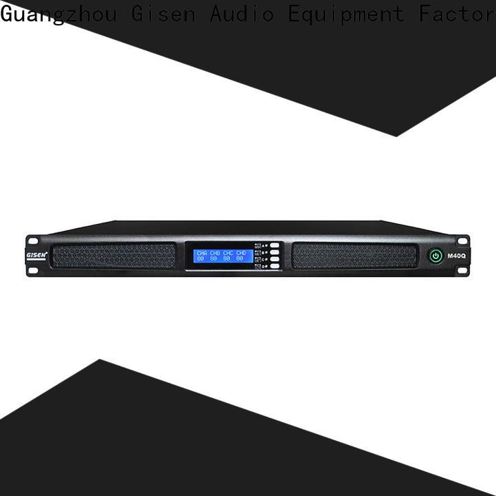 Gisen 1u home amplifier wholesale for venue