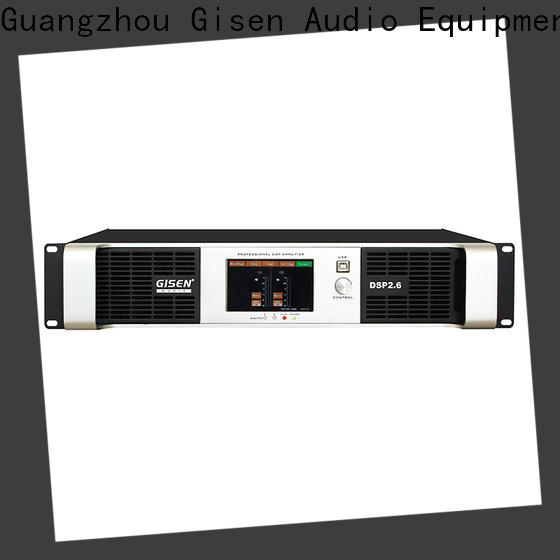 Gisen multiple functions dsp amplifier factory for various occations