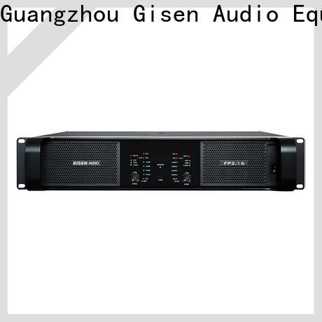 Gisen amplifier best power amplifier one-stop service supplier for vocal concert