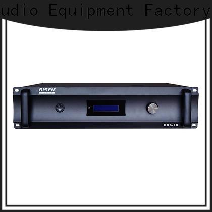 Gisen home best amplifier supplier for ktv