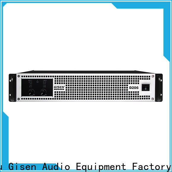 Gisen 2100wx2 top 10 power amplifiers fast delivery for entertaining club