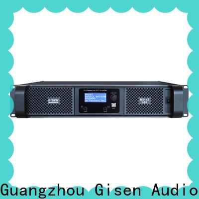 Gisen amplifier multi channel amplifier supplier for stage