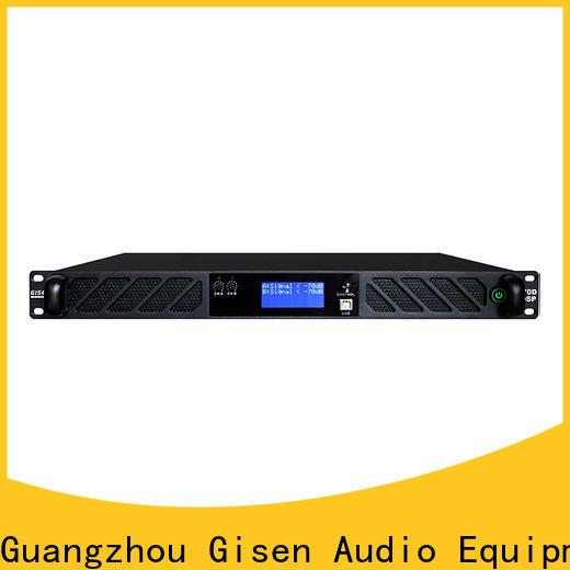 Gisen multiple functions 1u amplifier supplier for performance