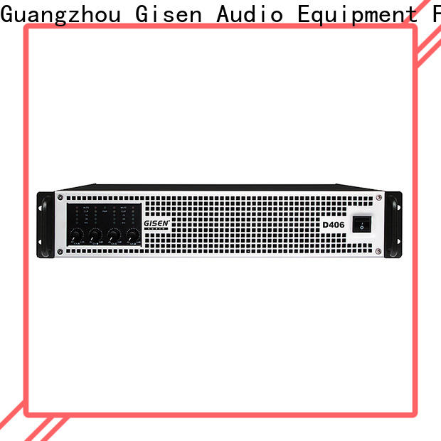 Gisen guangzhou class d digital amplifier wholesale for entertaining club
